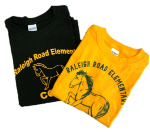 Raleigh Road School Shirts