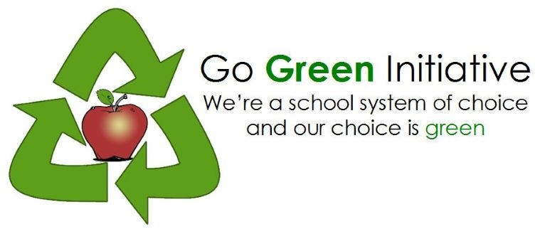 Go Green initiative logo