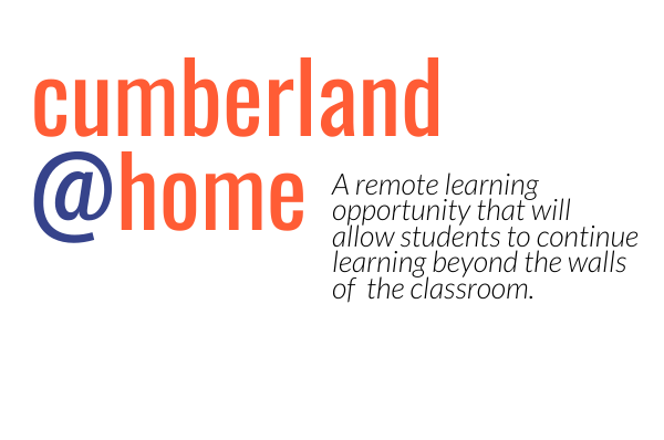 Cumberland@Home Logo with Tagline