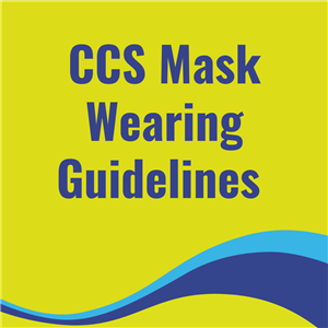 CCS Mask Wearing Guidelines Button