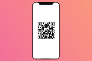 QR Code on Cell Phone