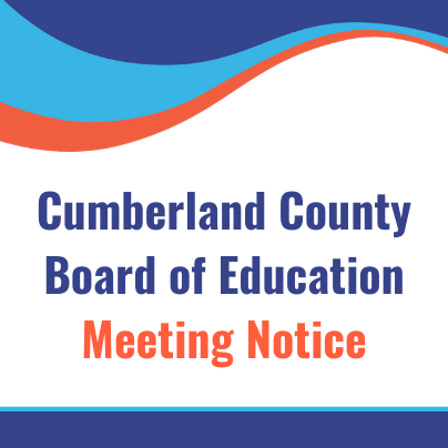 Cumberland County Board of Education Committee Meeting