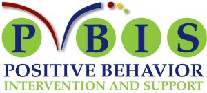 PBIS in blue on Green circles, Positive Behaviour