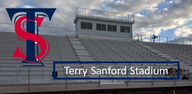 Terry Sanford Football Stadium Bleachers