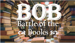 BOB Battle of the Books with Image of Books in Background
