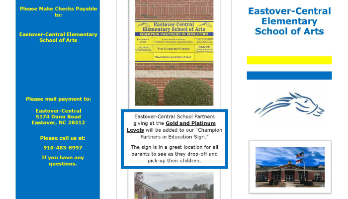EOC Flyer with information about becoming a partner in education.