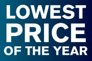 Lowest Price of the Year