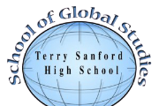 CLIPART OF GLOBE CAPTIONED SCHOOL OF GLOBAL STUDIES TERRY SANFORD HIGH SCHOOL