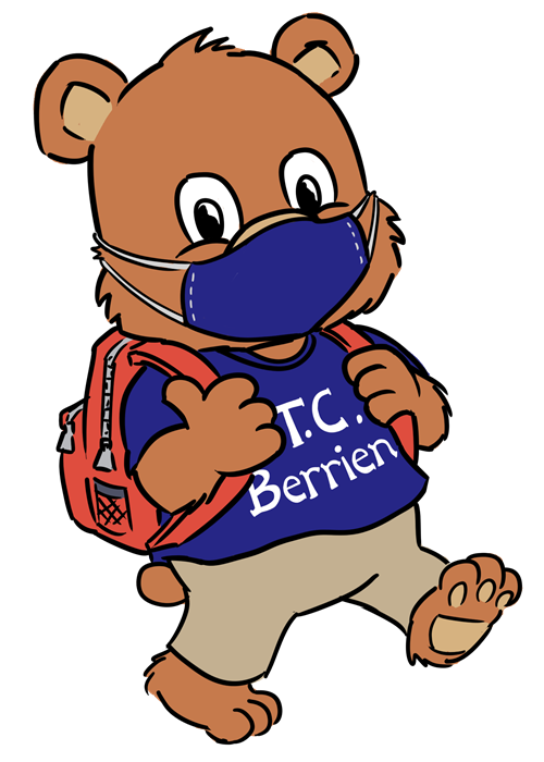 Berrien Bear with Mask